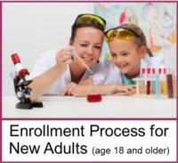Enrollment Process for New Adults